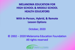 link to MEF teacher education video